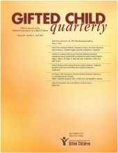 research papers gifted children A new national bureau of economic research working paper found that the  students who benefit the most from gifted classrooms are students.